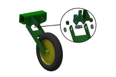 Soyuz-Composite repairs and modernizes wheel levers on the frame of sowing machines!